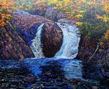 C.A. Henry, The Little Falls, Algoma