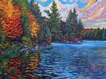 C.A. Henry, October Change, Algoma