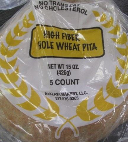 Bread High Fiber Bag 5 Count