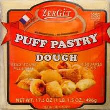 Zergut Puff Pastry Dough