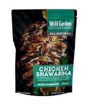 Wild Garden Chicken Shawarma