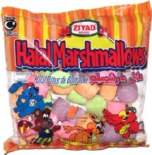 Ziyad Halal Marshmellows