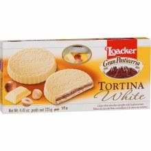 Loacker Tortina White