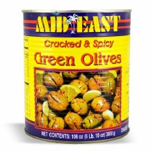 M.E Green Olives Spicy