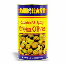 M.E Green Olives W/ Hot