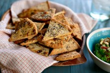 Pita Chips Italian