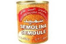 Second House Semolina In Tin