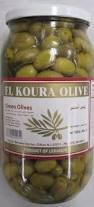 El Koura Olive Green Olives