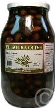 El Koura Olive Black Olives