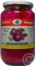 Beirut Turnip Pickles