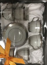 Silver Coffe Cups 12 Pieces