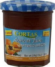 Cortas Apricot Low Sugar Jam