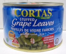 Cortas Stuffed Grape Leaves