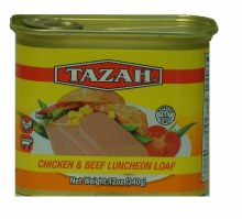 Tazah Chicken & Beef Luncheon