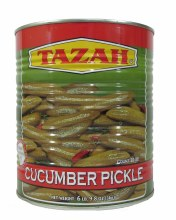 Tazah Cucumber Pickle In Tin 3