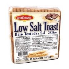 Wellmade Low Salt Toast