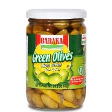 Baraka Green Olives