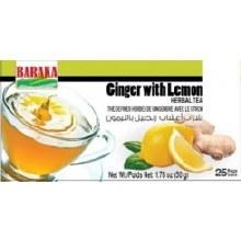 Baraka  Ginger W/ Lemon Tea