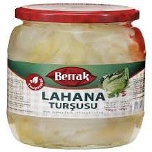 Berrak White Cabbage Pickle