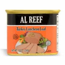 Al Reef Turkey Luncheon Loaf
