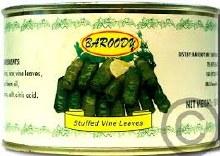 Baroody Stuffed Vine Leaves