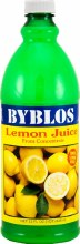 Byblos Lemon Juice