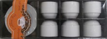White Coffe Cups 12 Pieces