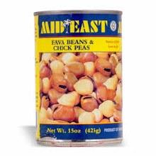 M.E. Fava Beans & Chick Peas