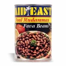 M.E. Foul Medammas Fava Beans