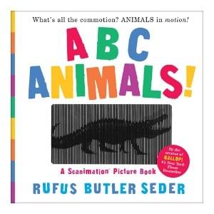 ABC Animals A Scanimation Book
