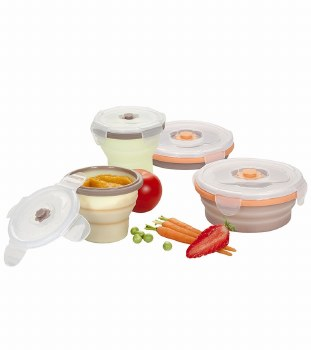 Babymoov Silicone Food Containers