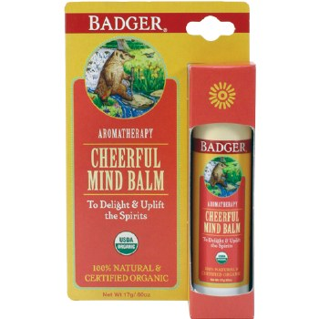Badger Aromatherapy Cheerful Mind Balm