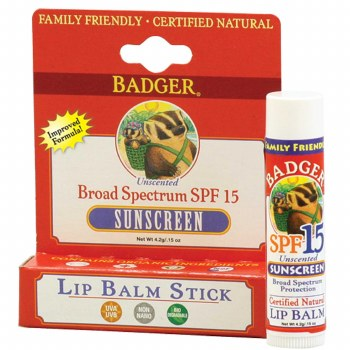 Badger Sunscreen Lip Balm