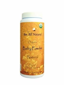 Bee All Natural Organic Baby Powder Natural