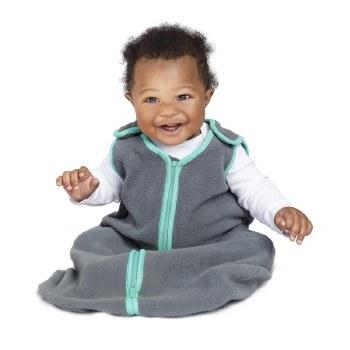 Baby Deedee Fleece Sleep Nest Teal