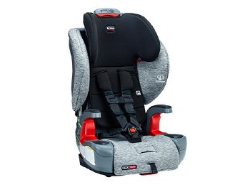 Britax Grow With You ClickTight Harness-2-Booster Car Seat Spark