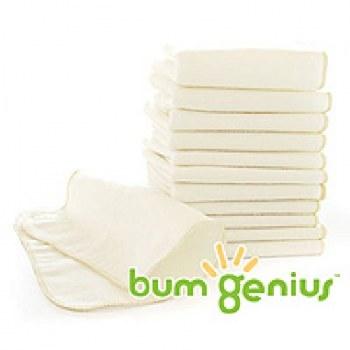 bumGenius Cotton Flannel Wipes