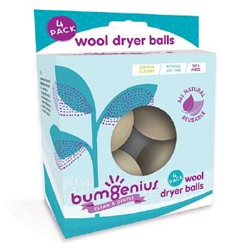 bumGenius Wool Dryer Balls 4pk