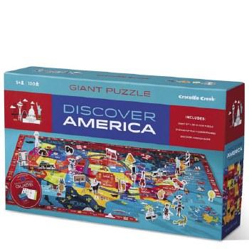 Crocodile Creek 100 Piece Puzzle Discover America