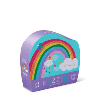 Crocodile Creek 12 Piece Mini Puzzle Rainbow Dream