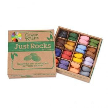 Crayon Rocks Just Rocks Box of 64