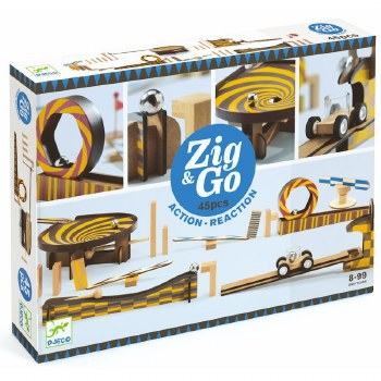 Djeco Zig & Go- 45 pieces