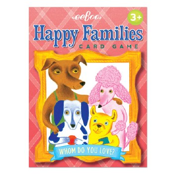 EB Happy Families Card Game