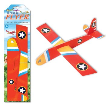 eeBoo Jefferson Flyer Red