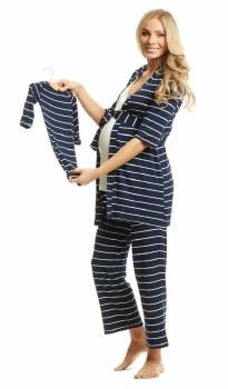 Everly Grey Roxanne 5-Piece Set in Navy