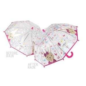 Floss and Rock Colour Changing Umbrella Bunny Clear