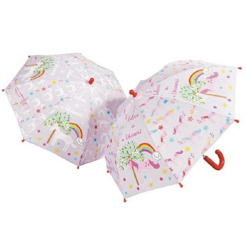 Floss and Rock Colour Changing Umbrella Unicorn