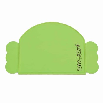 Guzzie + Guss Perch Silicone Placemat Green