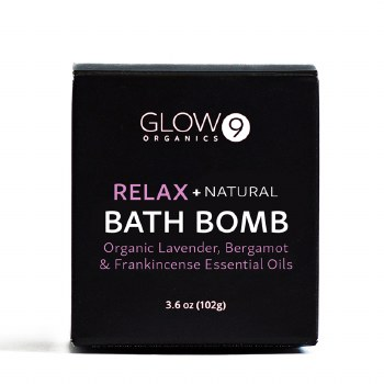 Glow Organics Bath Bomb - Relax
