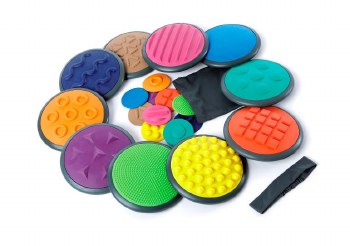 Tactile Discs Set of 10 (Curbside Only)